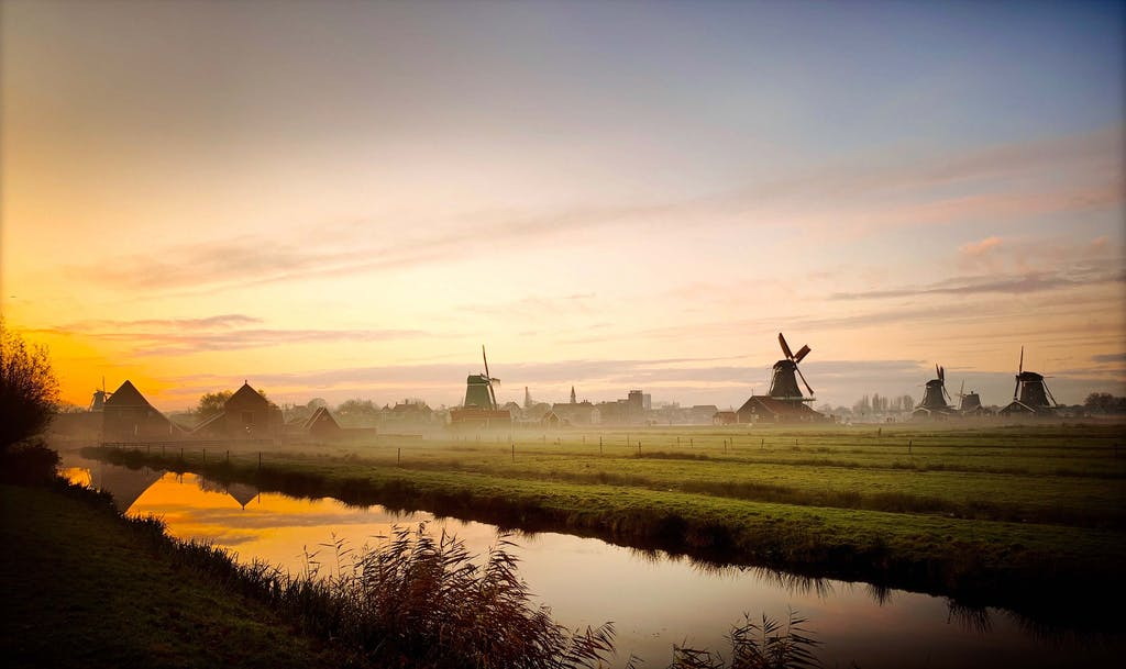 windmills a great place to visit as a couple during your day trips from Amsterdam