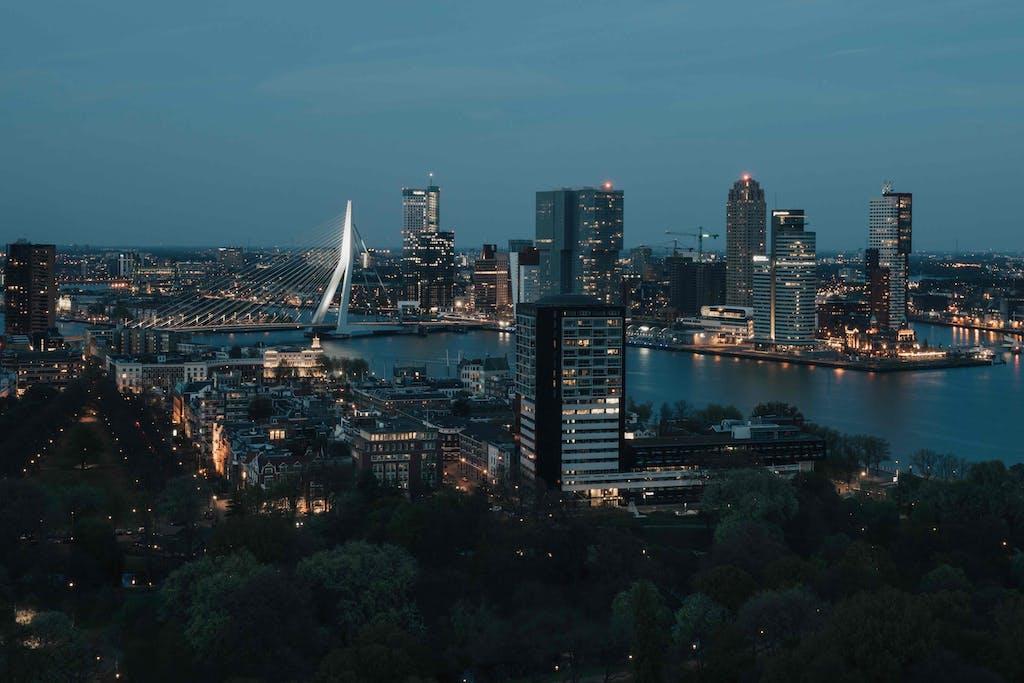 Rotterdam a modern city best day trip from Amsterdam