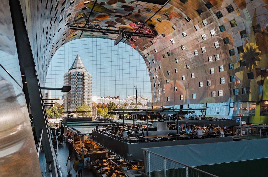 Foodhallen in Rotterdam a must visit