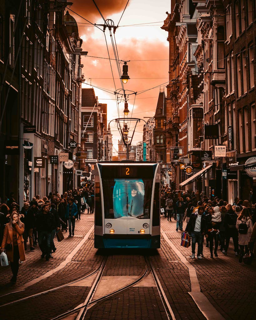 Explore Amsterdam in public transport