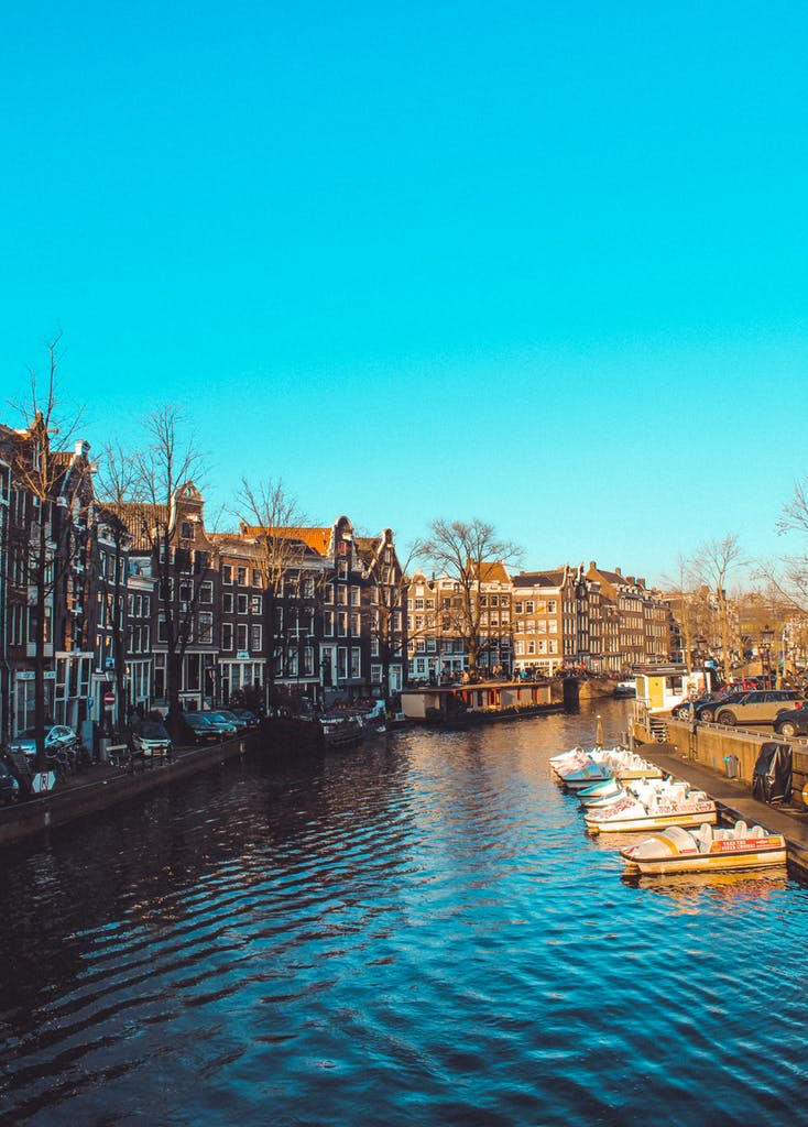Amsterdam views are amzing when you explore the city