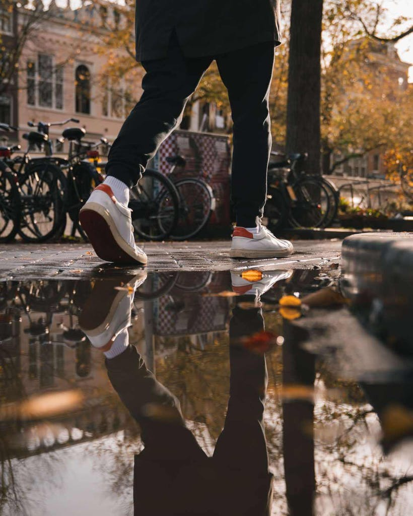 by foot romantic places in amsterdam