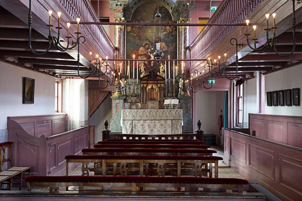 hidden church romantic amsterdam places
