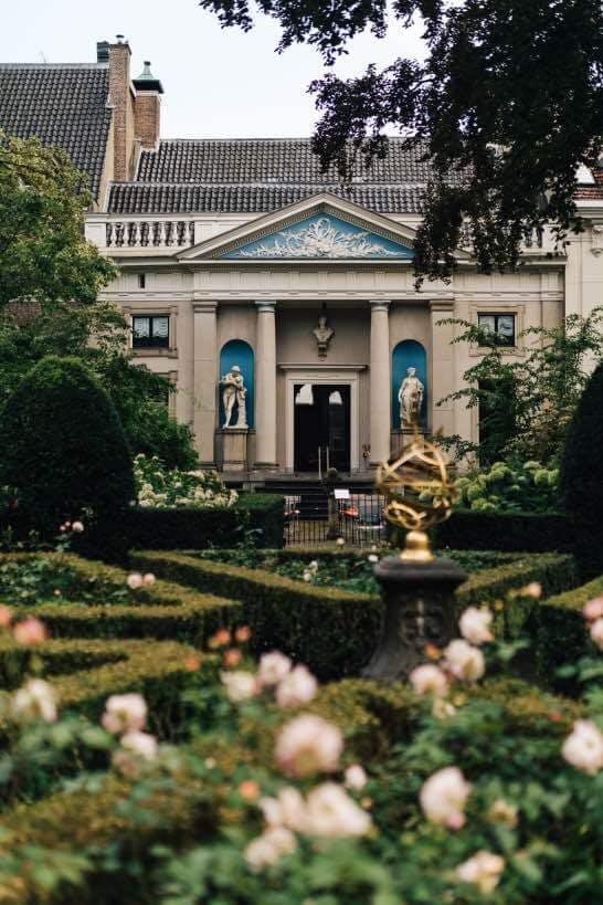 museum van loon Garden romantic places in amsterdam