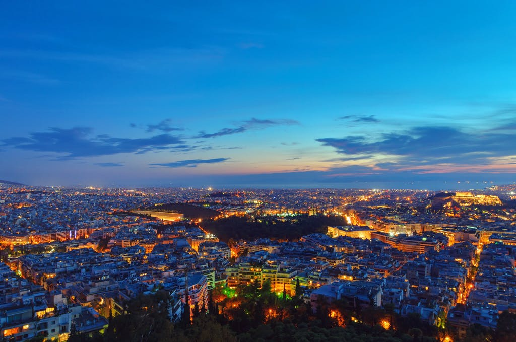 best places to proces in europe athens