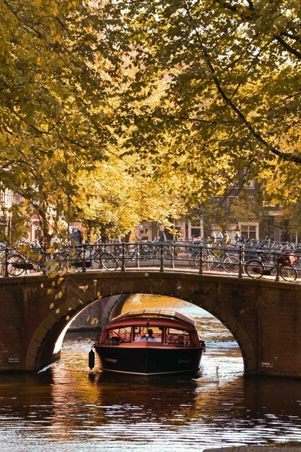 love bridge of amsterdam