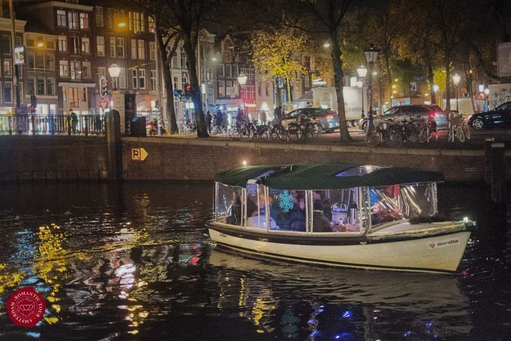 evening private canal tour Amsterdam
