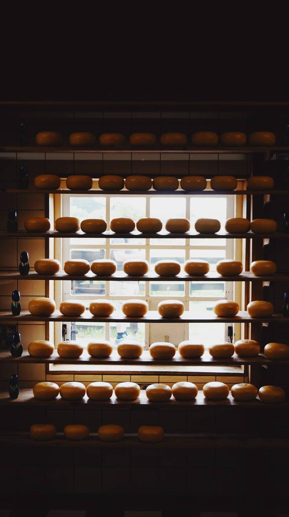 Amsterdam is full of different and various type of cheese