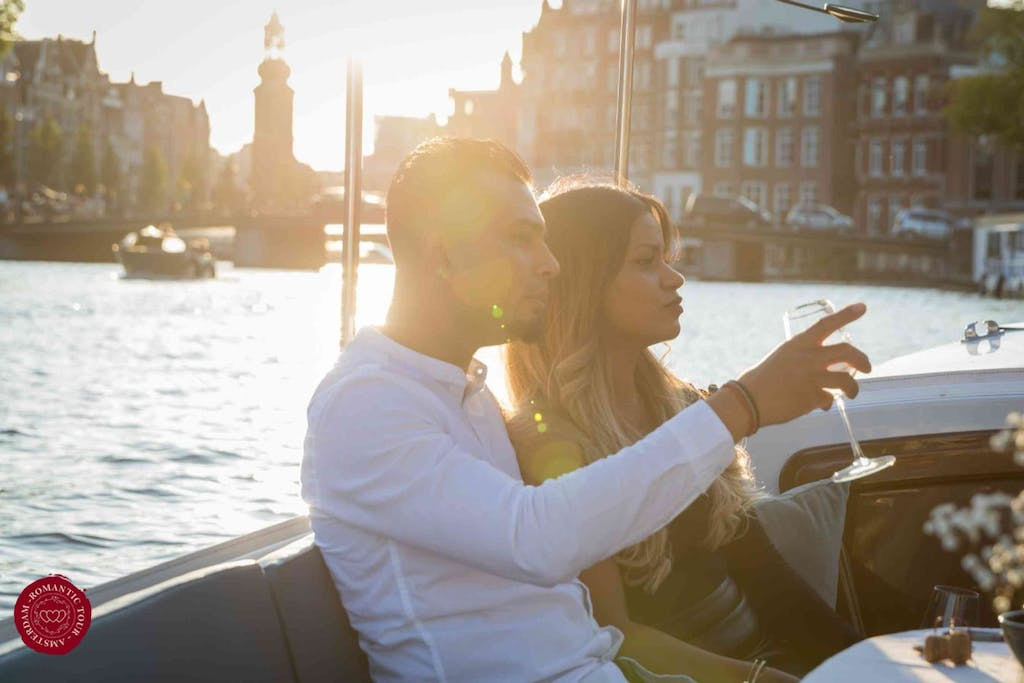 Amsterdam private romantic boat tour