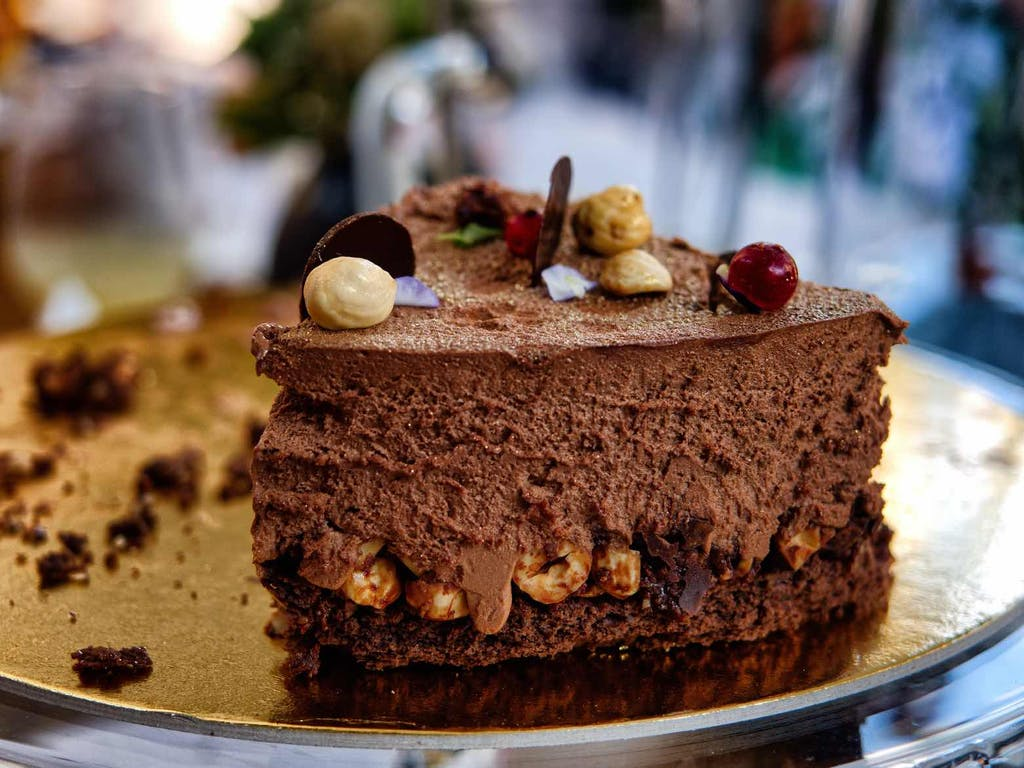 best cakes in amsterdam close up