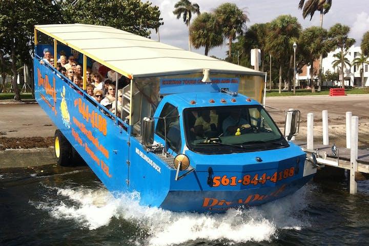 West Palm Beach Duck Boat Tour | DivaDuck Amphibious Tours