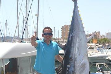 Trawler 42 tuna fishing boat