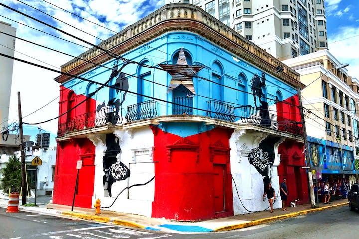 Spoon calle loiza food street art tour