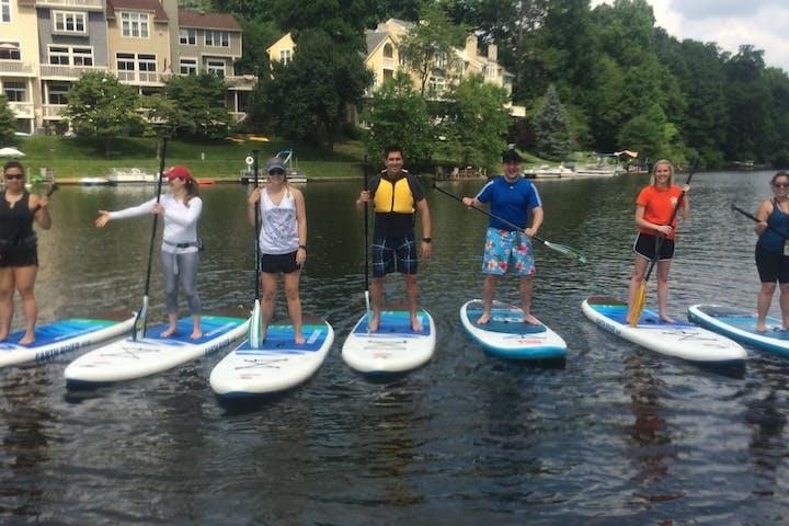 5e4a67c57d03 SUP Sessions at Lakes Anne, Audubon, Newport, Thoreau   Surf Reston