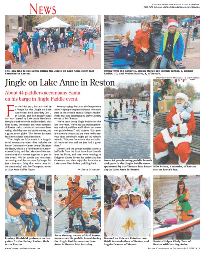 Click here to Jingle on Lake Anne