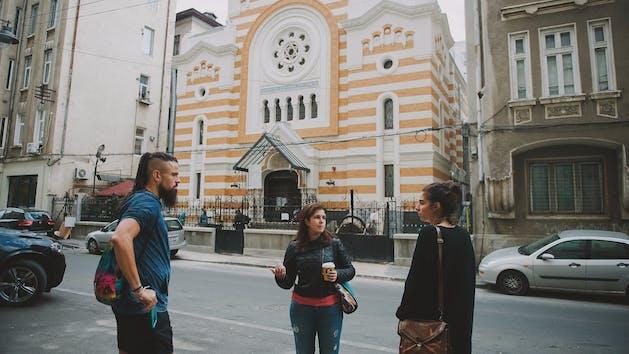 Bucharest-Synagogue-Exterior