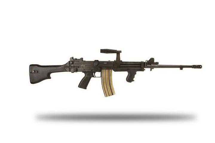 Shoot The Ultimax 100 Machine Gun | Battlefield Vegas!