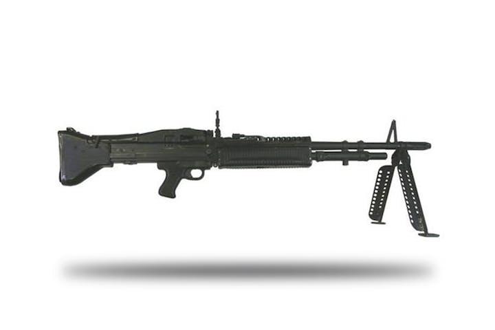 shoot the m60 belt fed machine gun battlefield vegas
