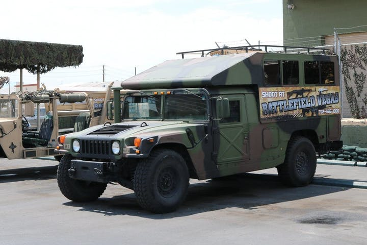 Free Humvee Pickup On Las Vegas Strip  Battlefield Vegas-3892