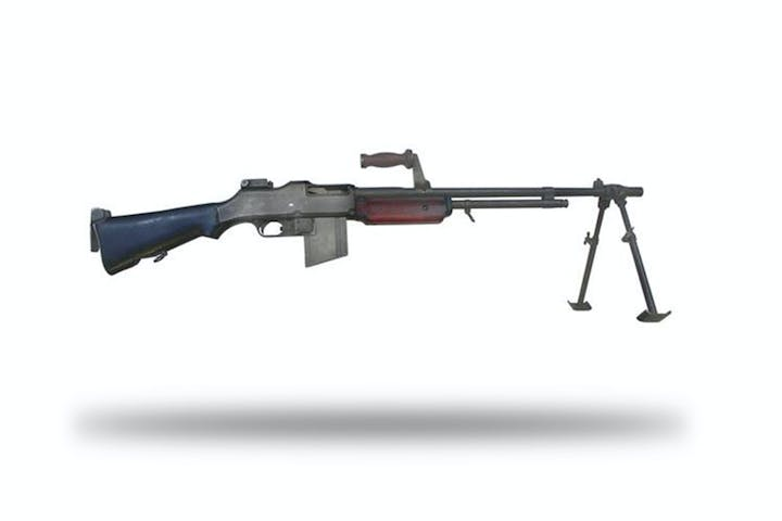 shoot the m1918a2 browning automatic rifle battlefield vegas