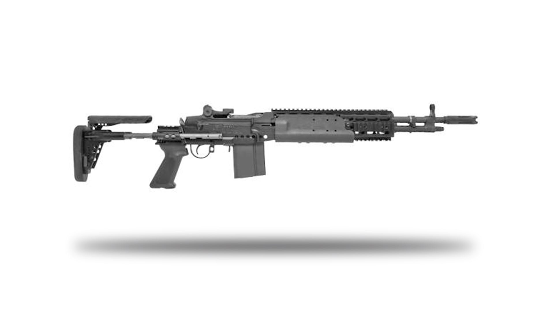 Shoot the M14 EBR Main Battle Rifle | Battlefield Vegas M14 Ebr Rifle