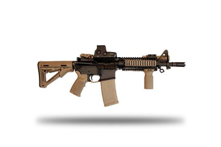 Shoot The M4 Assault Rifle