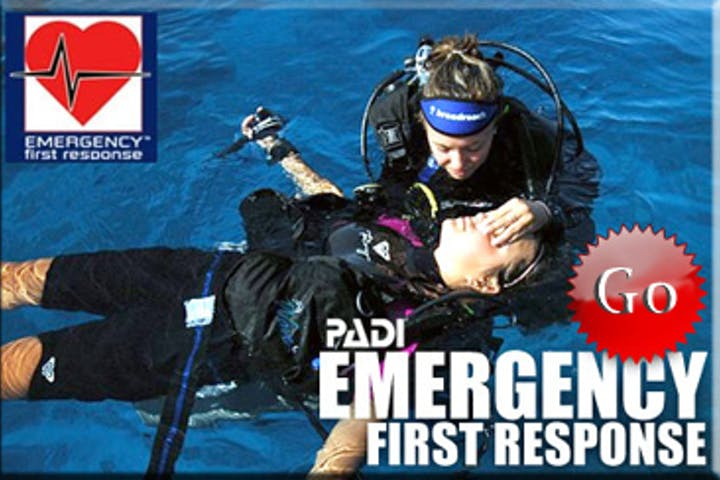 Padi Emergency first responder flyer