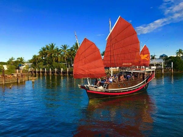shaolin junk boat