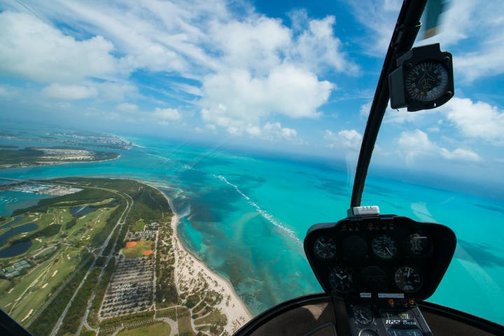 Helicopter Photography Tour In Miami