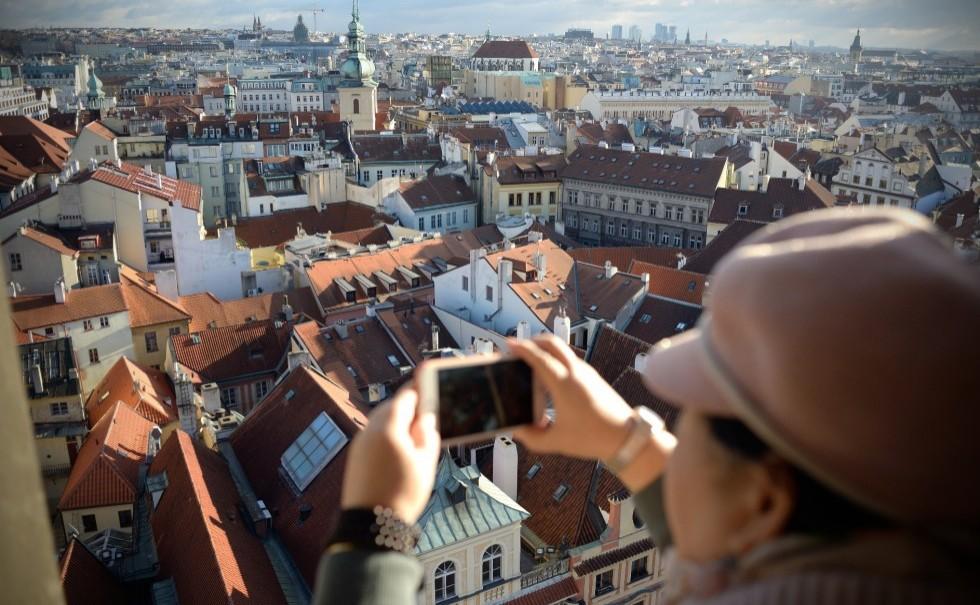Overlooking-Prague-City