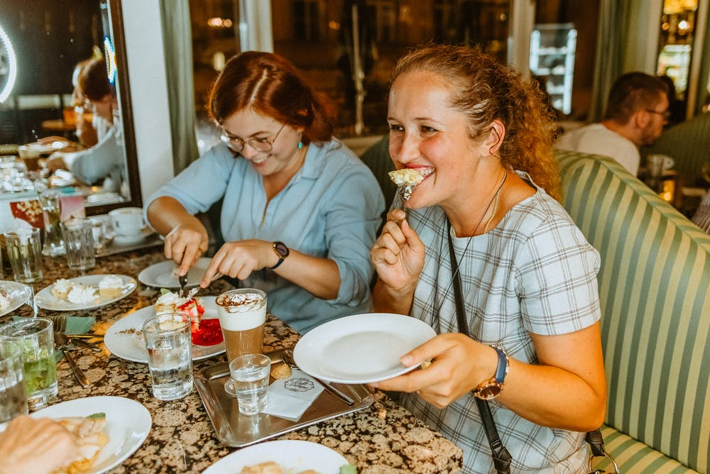 Women on Traditional Czech Food Tour