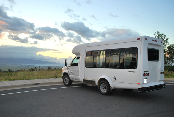 Maui Country Farm Tours Van