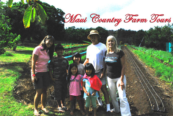 Maui Country Farm Tours