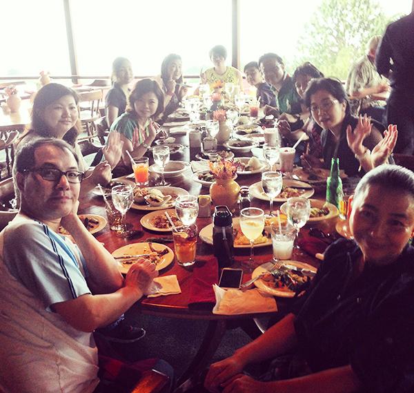 Lunch at Kula Lodge