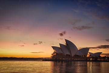 Sydney-Opera-House-at-Sunset