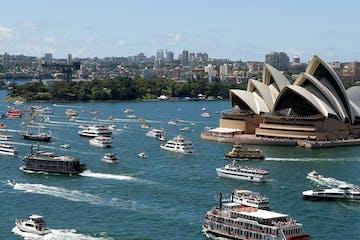 Sydney-Australia-Day-Boat-Race