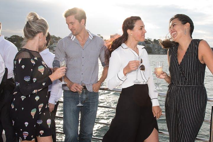 Sydney Harbour Fantasea Wedding Reception