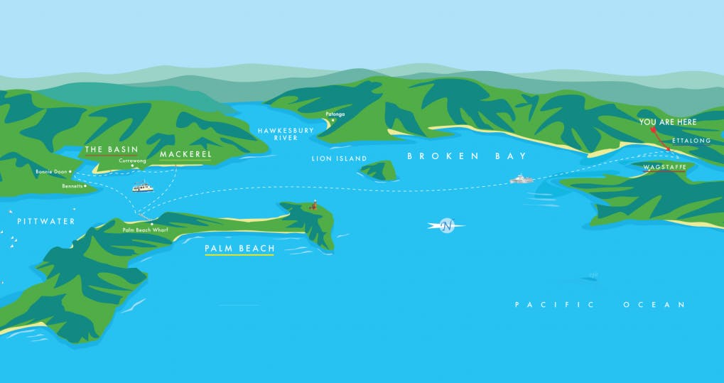 Pittwater-Map