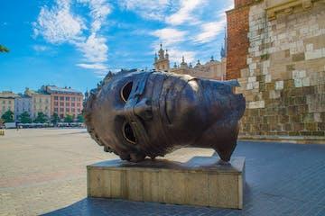 krakow statue