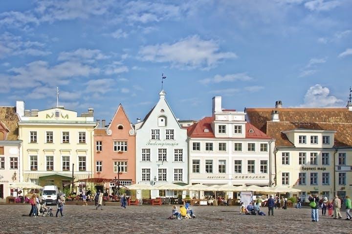 Tallin-old-town-center