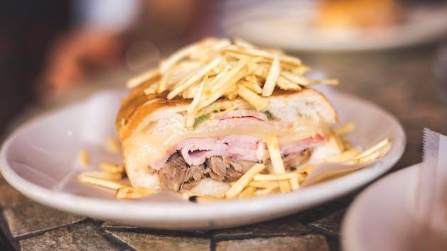 Cuban Sandwich in Little Havana