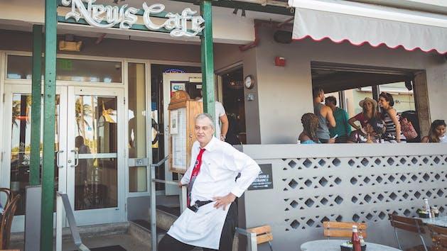 News Cafe South Beach Miami