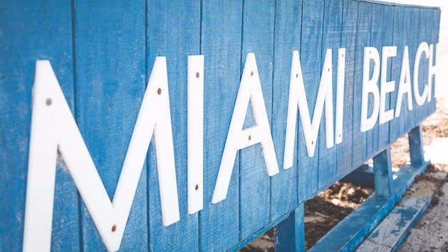 Miami Beach Lifeguard Station Closeup