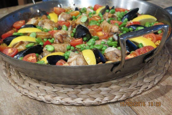 Paella and Churros