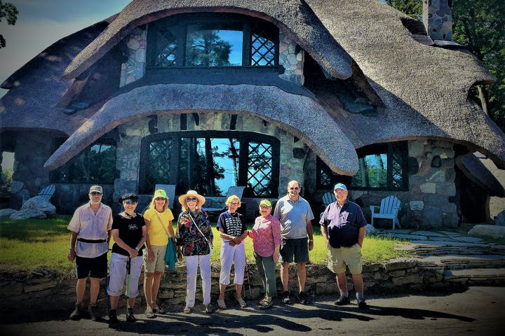 Walking Tour, Mushroom House Tour