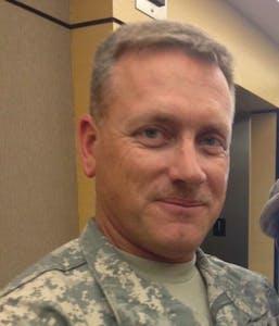 a man wearing a uniform