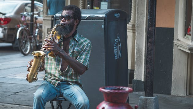 New Orleans Saxophonist