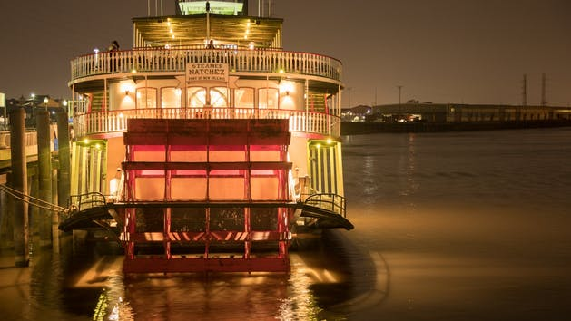 Steamer Nachez New Orleans Riverboat