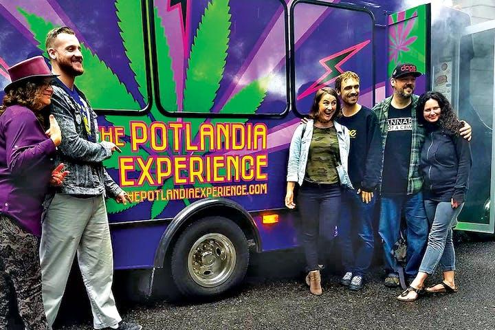 Potlandia Experience Bus with avid fans