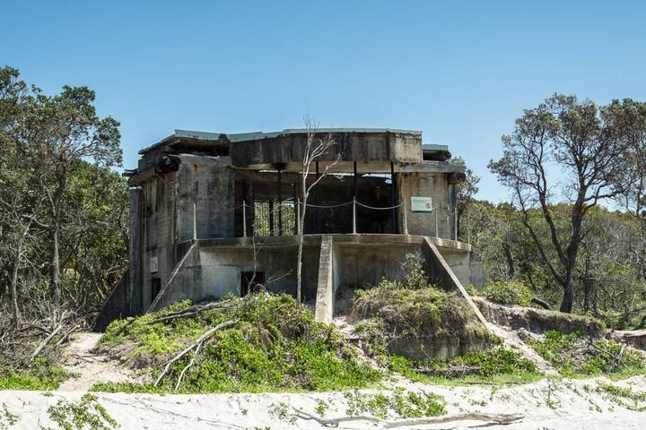 A look at the abandoned WWII bunker